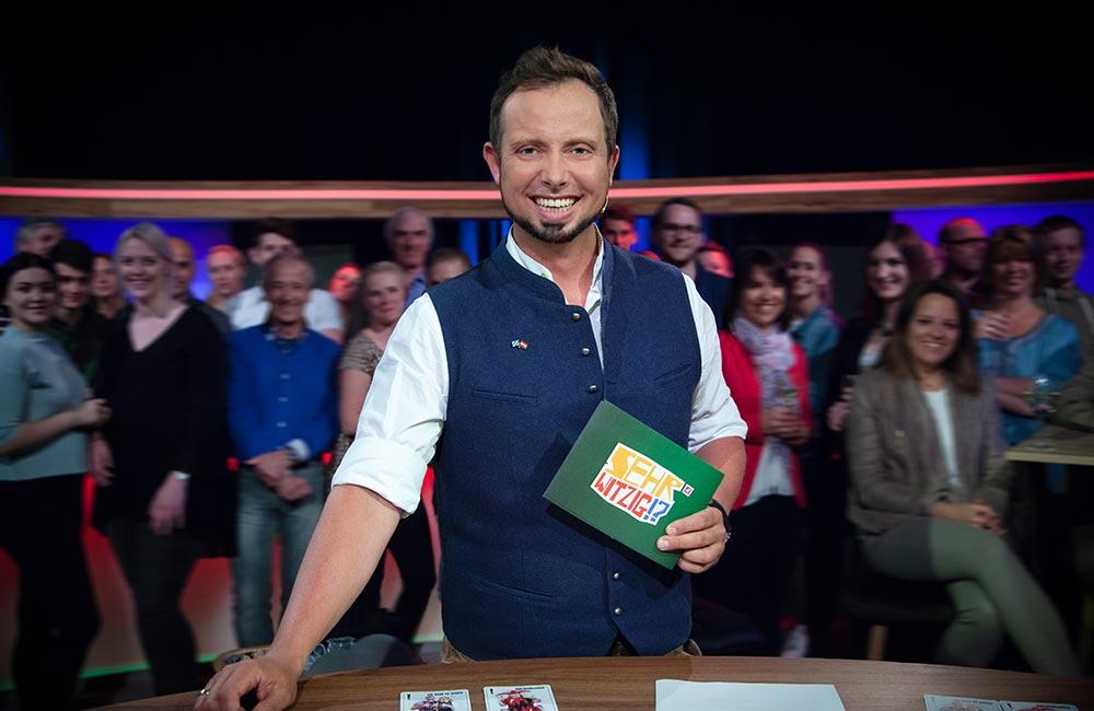 """""""Sehr Witzig!?"""" im österreichischen Fernsehen"""